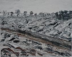 Artur Stoll Winter in Norsingen, 1998, 80 x 100 cm.JPG